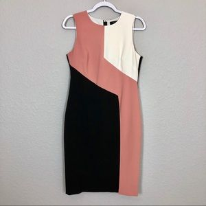 EUC White House Black Market Sleeveless Dress - 8P